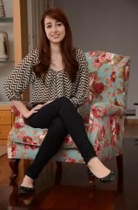 Isabella: profissional de moda desde a infância