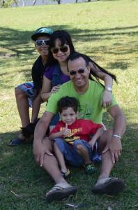 Chinaider e família (Foto: Rogério)