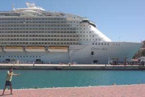 Renan no Oasis of the Seas: mais de 5400 pessoas no navio