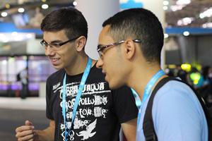 Campus Party 2014 - Thales Augusto e Eduardo Oliveira e Silva