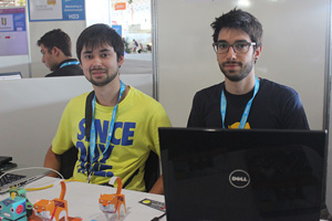 Campus Party 2014 -  Luiz Temponi e Thiago Cardoso