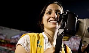 Fotojornalista Julia Chequer do Jornal Agora