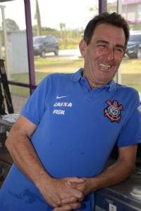 Carlos Bueno roupeiro do Corinthians