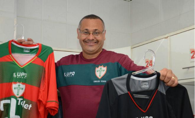 Luis Carlos Dias roupeiro da Portuguesa