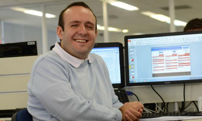 Rafael Urbano, que trabalha com inteligência de mercado