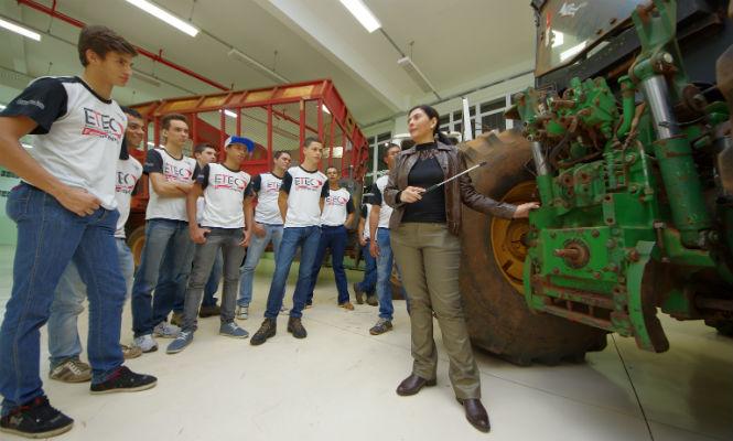 Grupo de Supervisão Educacional da unidade de Ensino Médio e Técnico do Centro Paula Souza