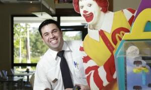 Fábio Roberto de Lima McDonald's gerente primeiro emprego