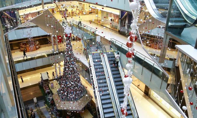 decoração shopping decorador natal