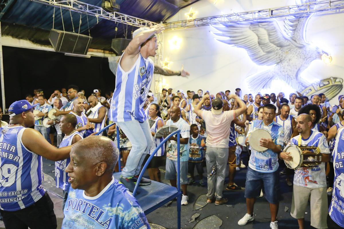 Carnaval: Markão, o mestre de bateria da Nenê da Vila Matilde
