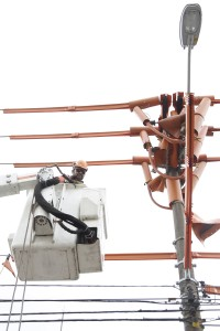 Eletricista da AES Eletropaulo Luis Renato Domiciano de Castro