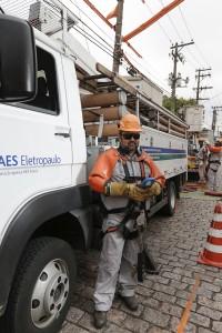 Eletricista Luis Renato Domiciano de Castro