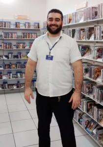 Balconista Luiz Hashim Chaer