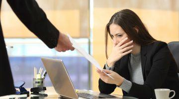10 erros que mais causam demissão