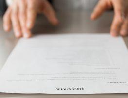 4 passos para fazer um currículo para 2018