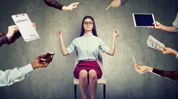 Como trabalhar sob pressão sem perder saúde e produtividade